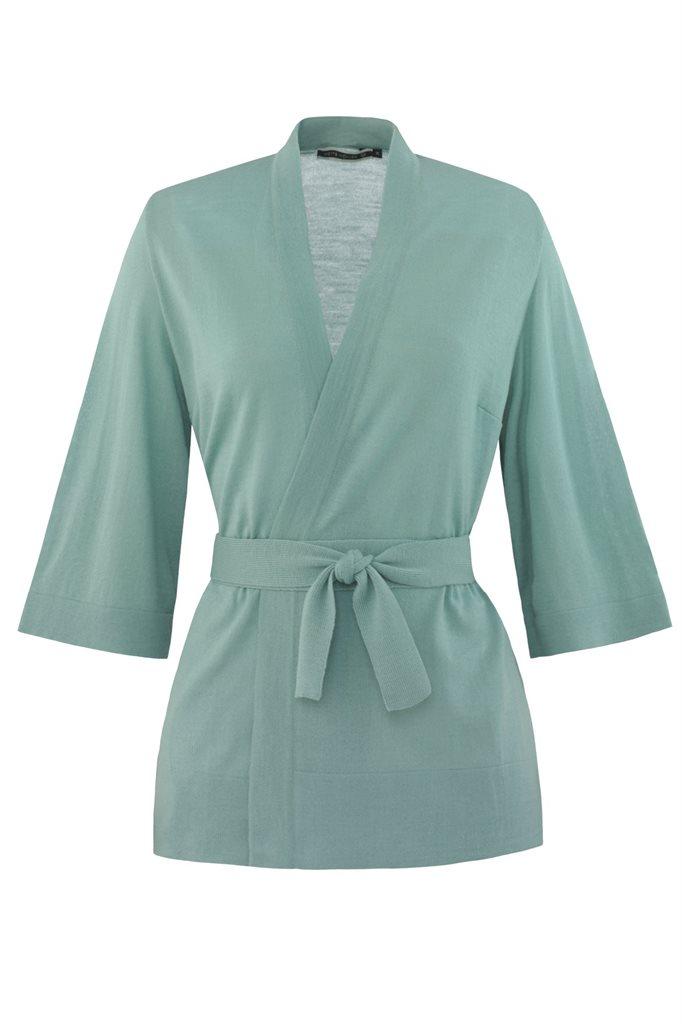 Magnolia Kimono jacket - salvie/green (jakke)