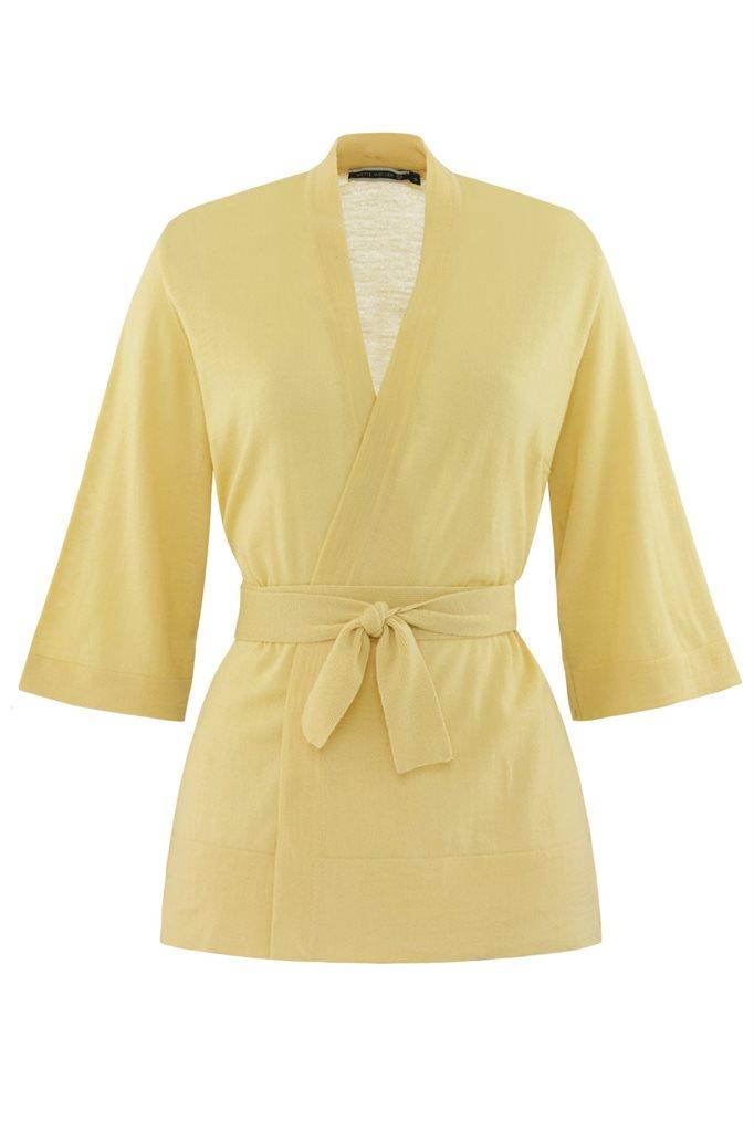Magnolia Kimono jacket - yellow (jakke)