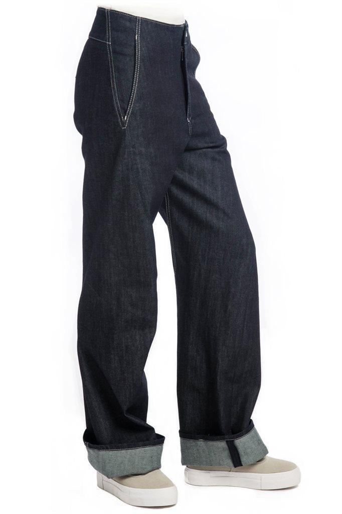 Organic boyfriend jeans - 170/36 (bukse)