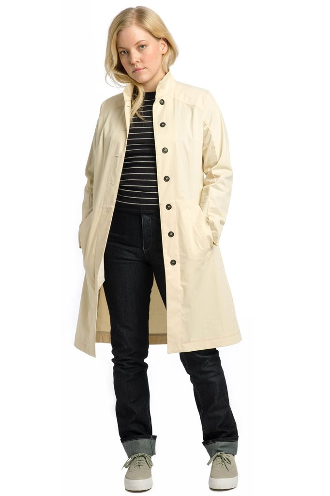 The Trench - creme (jakke)