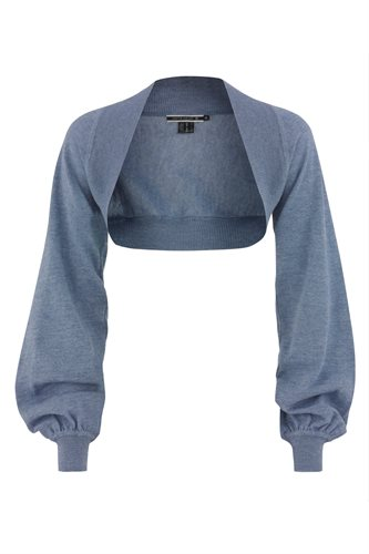 Magnolia bolero - blue (jacket/cardigan)