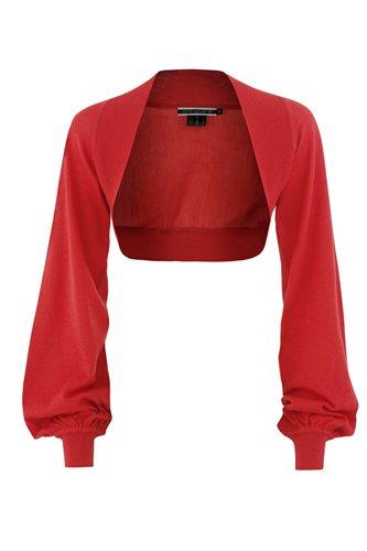 Magnolia bolero - red (jacket/cardigan)