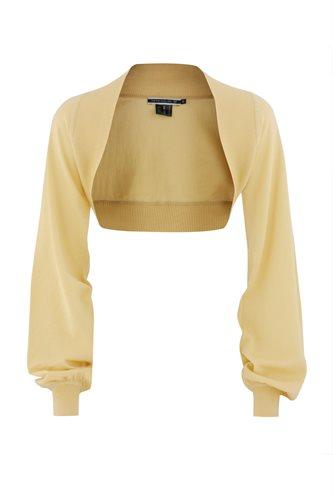 Magnolia bolero - yellow (jacket/cardigan)