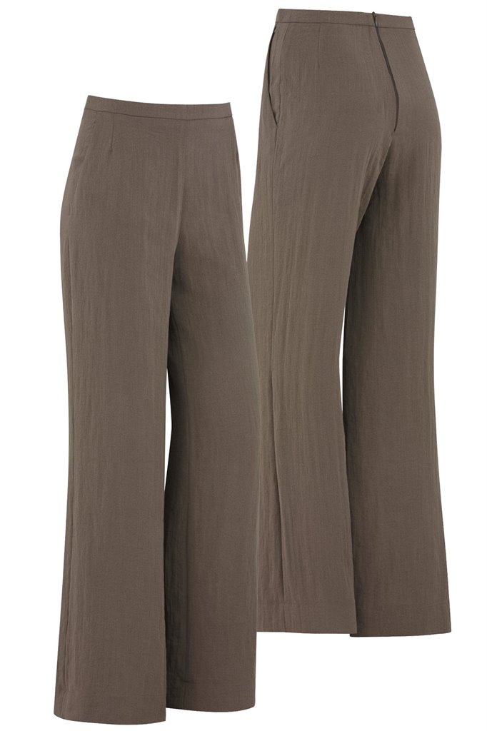 F102 Linda trousers - brown (bukse)