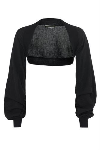 Magnolia bolero - black (jacket/cardigan)