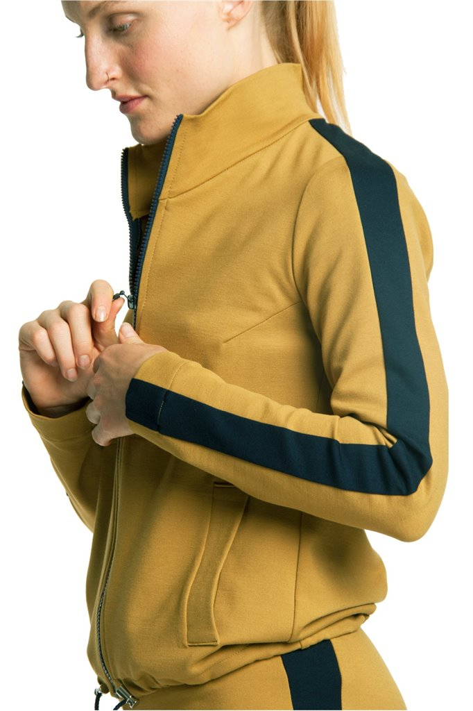 Kill Bill zip jacket - mustard (jakke)