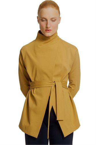 Kill Bill wrap jacket - mustard (jacket/cardigan)