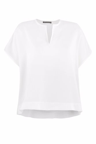 Oriental tee solid - white (top)
