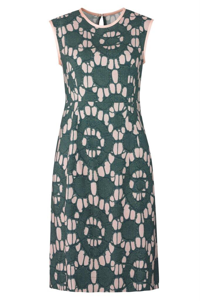 Oriental Sun dress print - beige print (kjole)