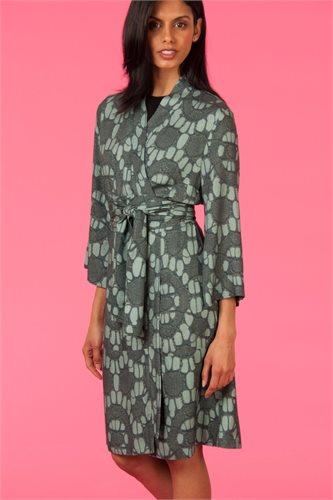 Oriental kimono dress print - sea print (dress)