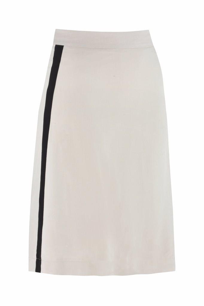 Oriental skirt solid - beige (skjørt)
