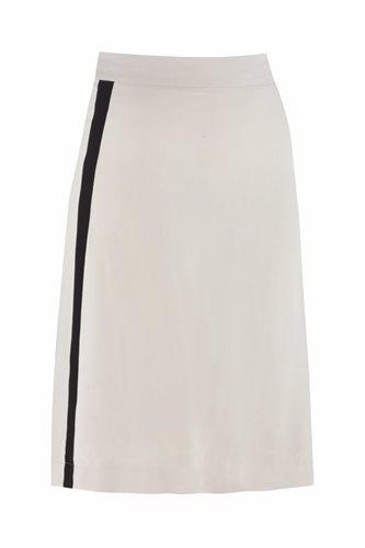 Oriental skirt solid - beige (skirt)