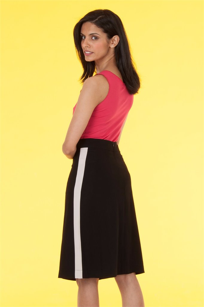 Oriental skirt solid - black (skjørt)