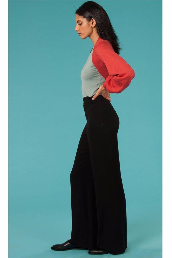 Oriental trousers - black (bukse)