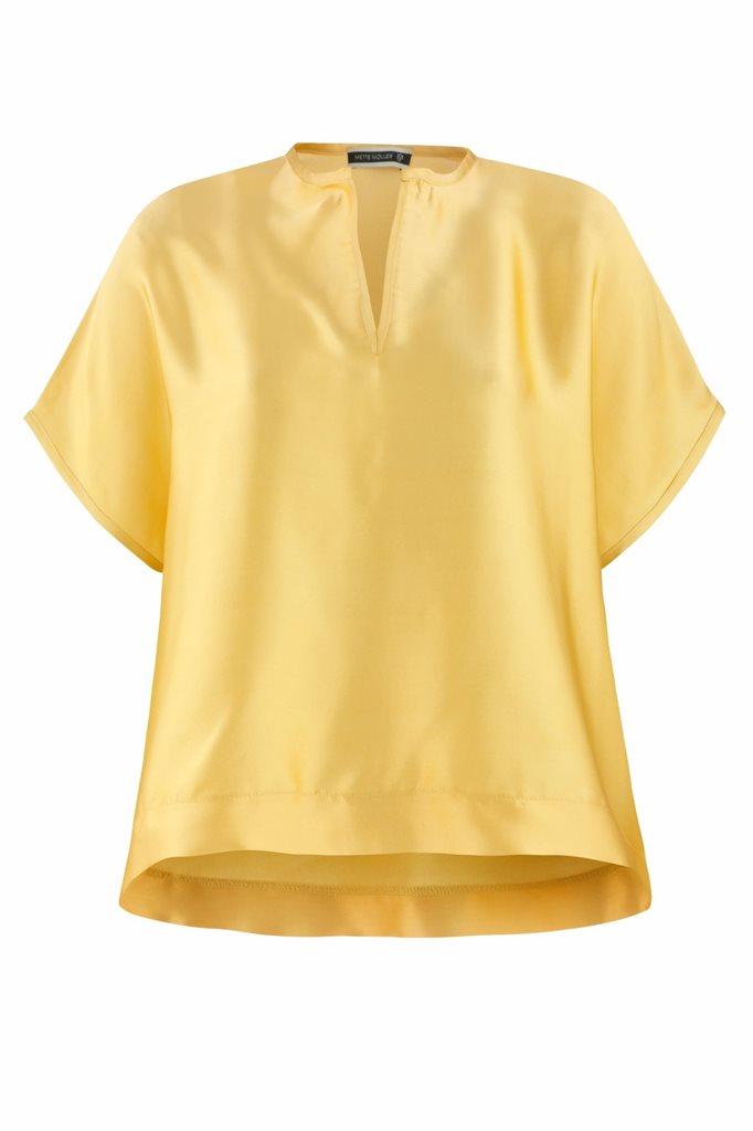 Oriental tee silk - joba yellow (topp)