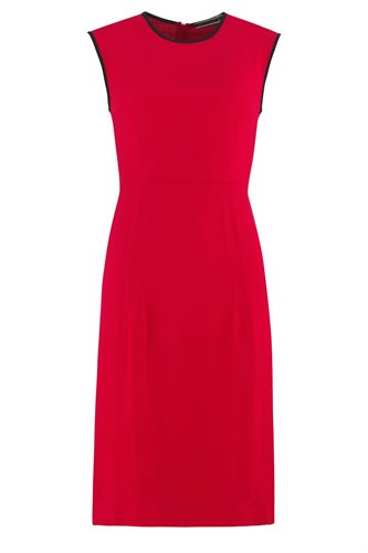 Oriental Sun dress solid - red (dress)
