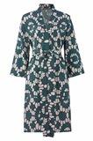 Oriental kimono dress print - beige print (kjole)