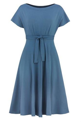 Fluid summer dress 2 - blue (dress)