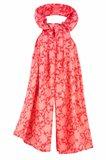 Oriental shawl silk - rød (tilbehør)