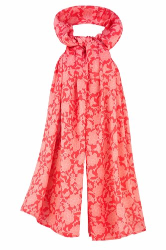 Oriental shawl silk - red (tilbehør)