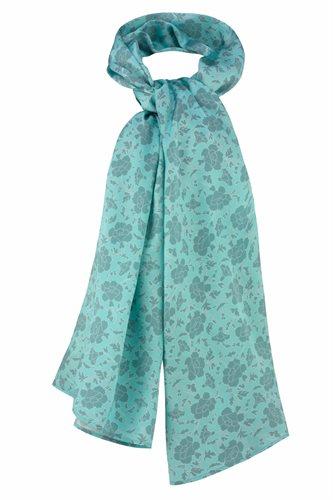Oriental shawl silk - gray (tilbehør)