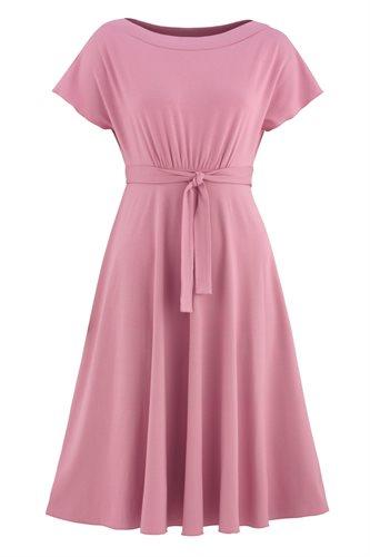 Fluid summer dress 2 - old rose (dress)