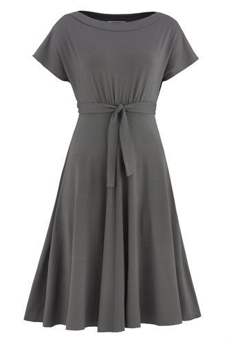 Fluid summer dress 2 - stone (dress)