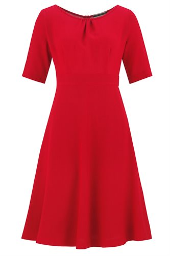 Musselin dress - red (dress)