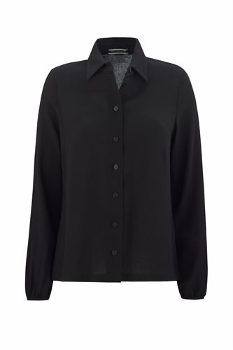 Musselin shirt - black (shirt)
