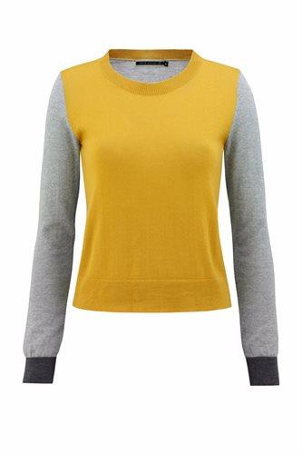 Just for fun sweater - yellow (sweater)