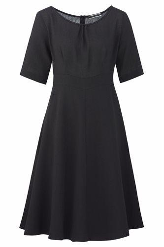Musselin dress - black (dress)