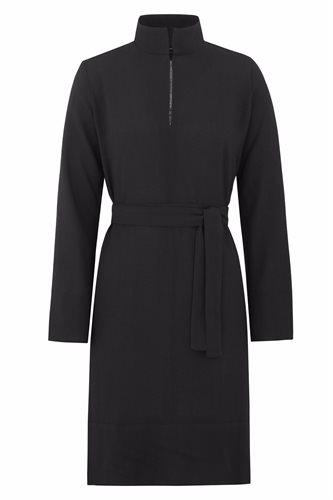 Musselin tunic - black (dress)