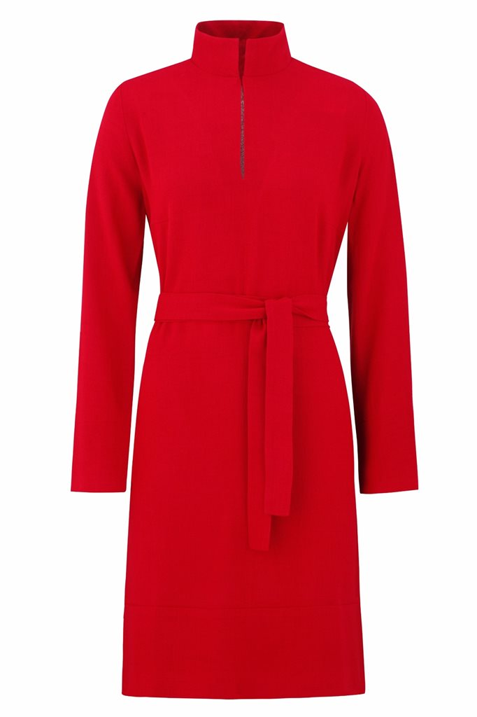 Musselin tunic - rød (kjole)