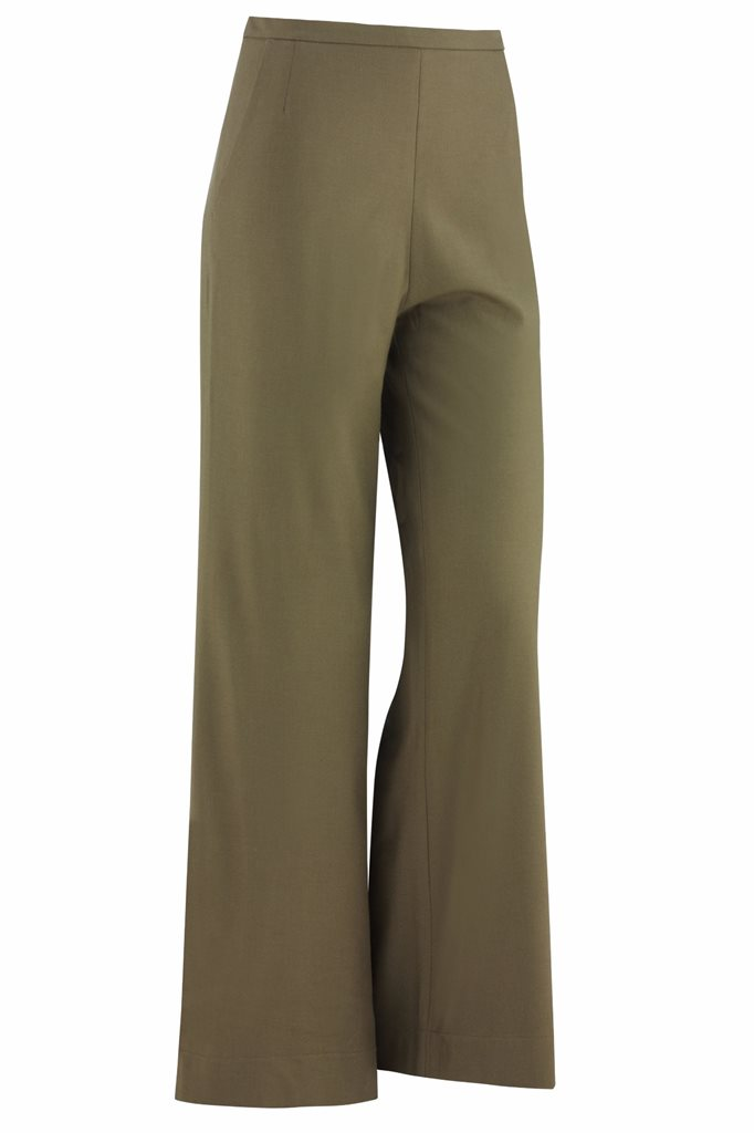 Musselin trousers - olive - olive (pants/shorts)