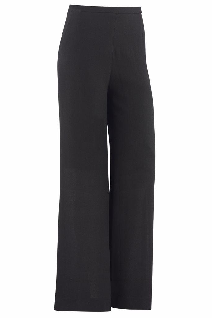 Musselin trousers - black - svart (bukse)