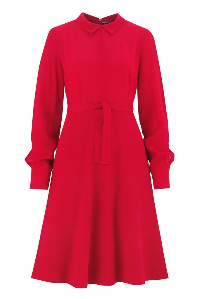 Musselin Day dress - rød (kjole)