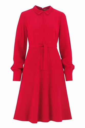 Musselin Day dress - red (dress)
