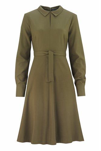 Musselin Day dress - Oliven - olive (dress)