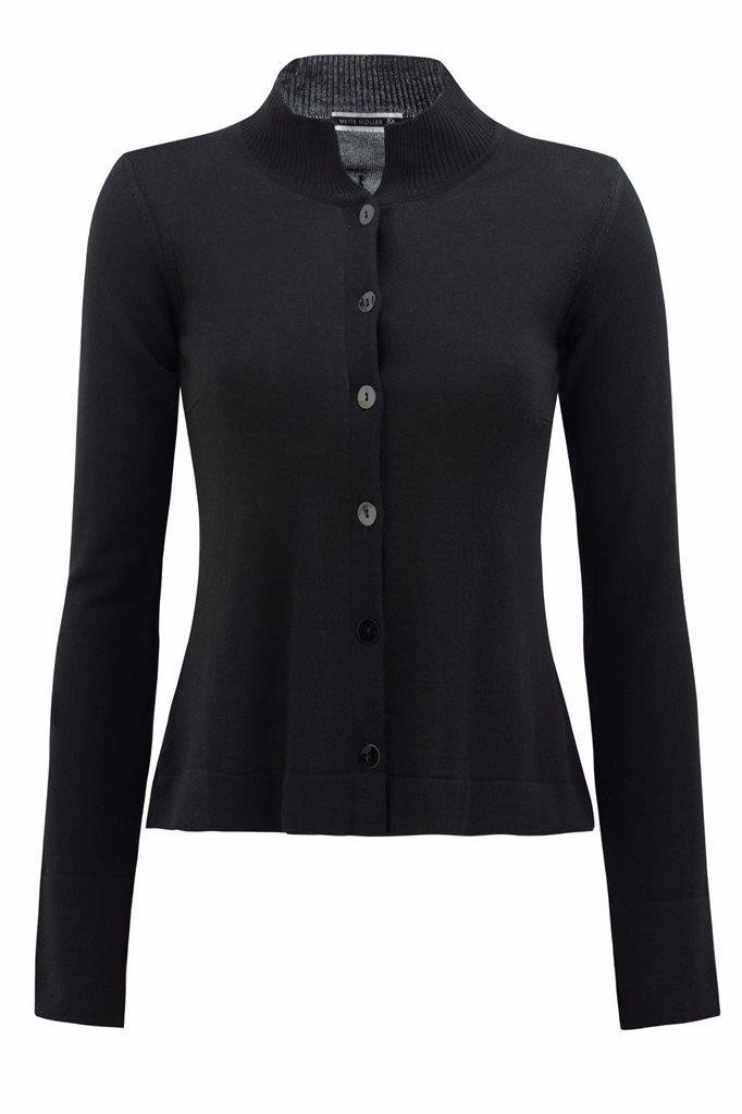 Classic C cardigan - svart - black (jacket/cardigan)