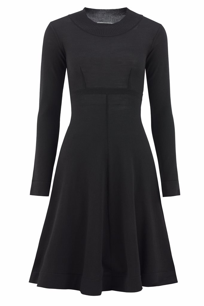 Classic S dress - svart - black (dress)