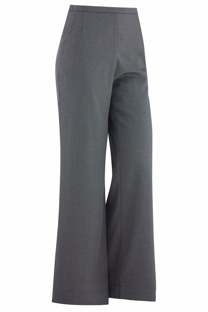 Musselin trousers - grey - gray (pants/shorts)