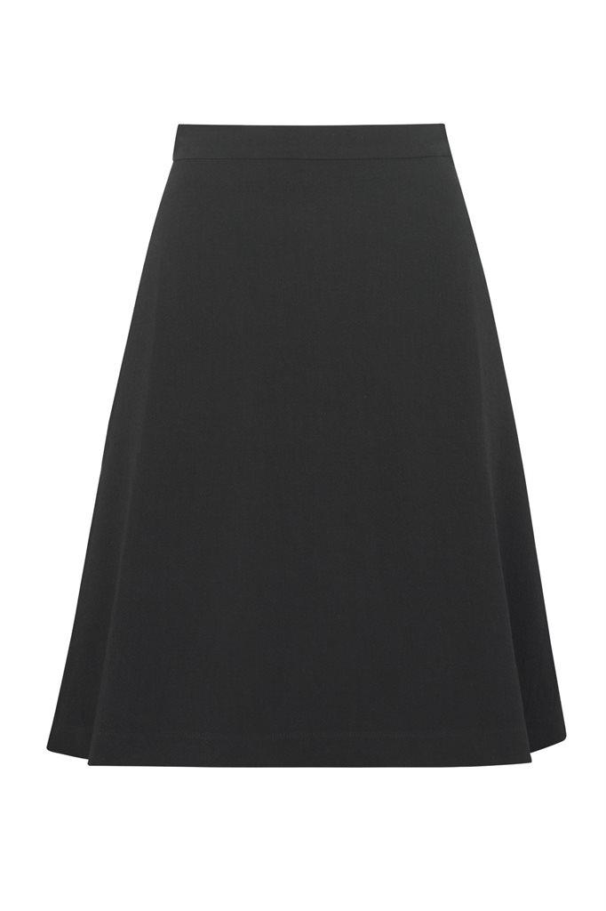 Musselin skirt - svart (skjørt)