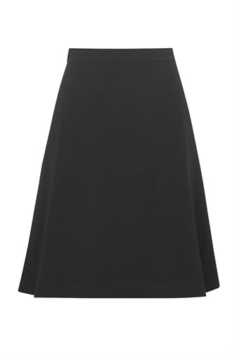 Musselin skirt - black (skirt)