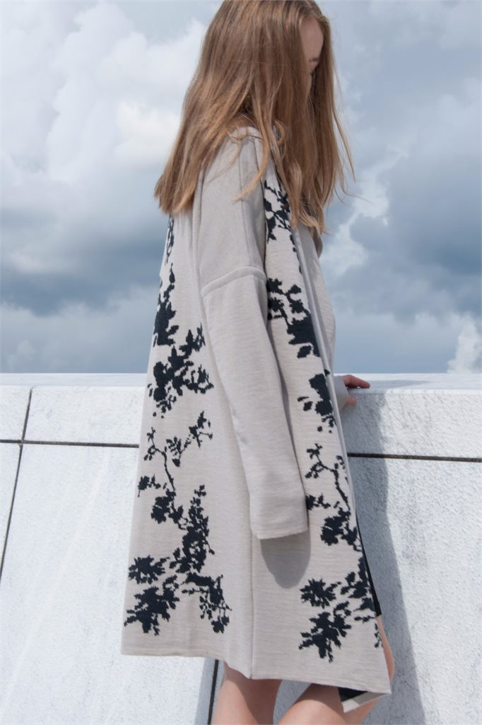 E52 Asian bloom jacket (jakke)