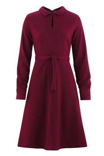 Musselin Day dress - burgunder - burgundy (dress)