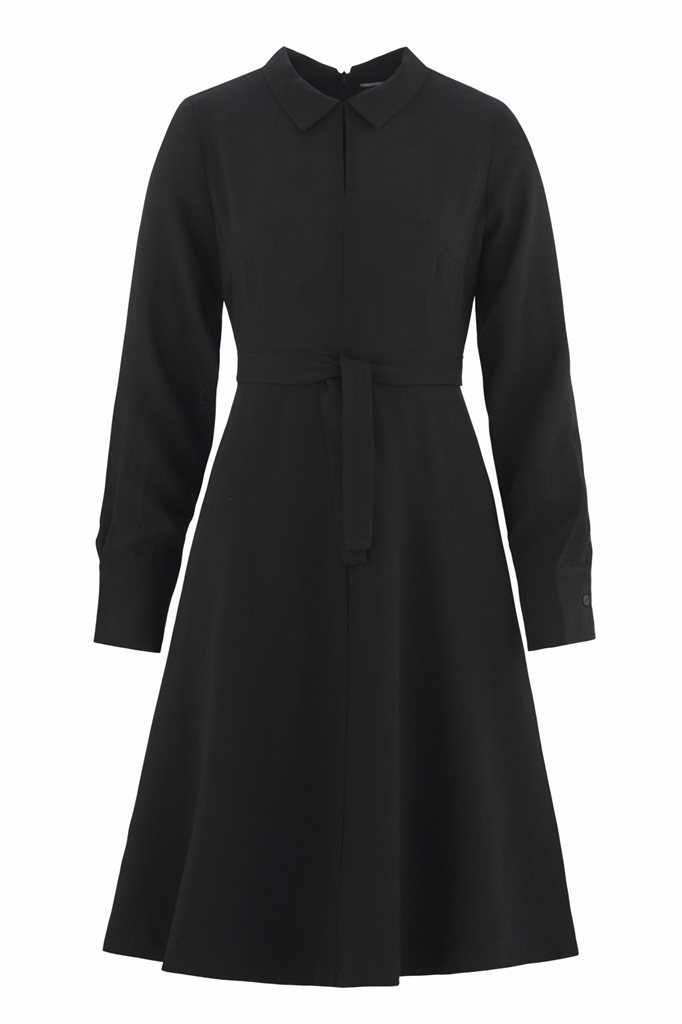 Musselin Day dress - svart (kjole)