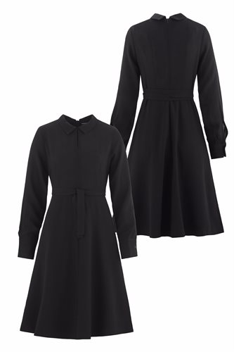 Musselin Day dress - front and back (dress)