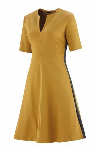 The X-dress - mustard (dress)