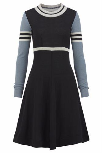 Classic S dress - black mix (dress)
