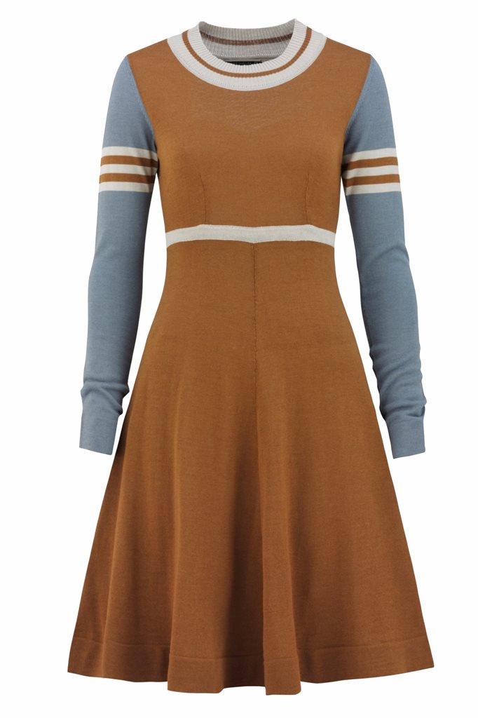 Classic S dress - nutmeg (kjole)